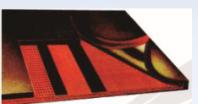 分層式織物芯輸送帶