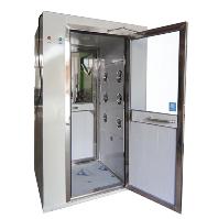 陕西西安冷板喷涂风淋室  外冷板内不锈钢风淋门价格优惠