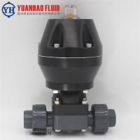 廠家直銷upvc氣動隔膜閥 不銹鋼衛生級隔膜閥