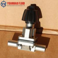 供應不銹鋼焊接隔膜閥 衛生級手動隔膜閥