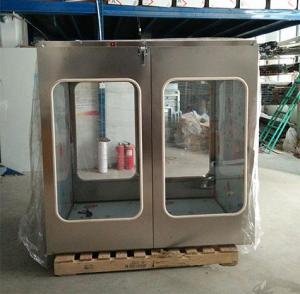 蘇州萬博風淋式機械互鎖傳遞窗廠家定制