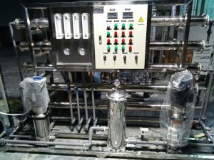 1噸雙級出口不銹鋼反滲透設備