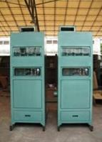 气箱脉冲滤筒收尘器现场安装实物图 滤筒类收尘器