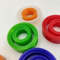 上海廠家直供 硅橡膠閥座 流體設備專門 多色可選 可定制橡膠件