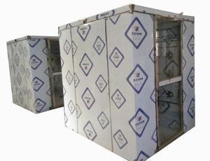 浙江杭州三人雙吹風淋室多少錢一臺 風淋走廊價格