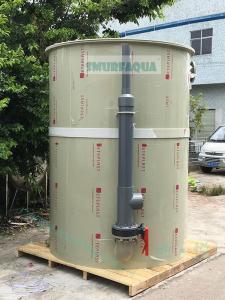 漁悅 工廠化養魚 循環水養蝦 污水生物處理 流沙過濾器