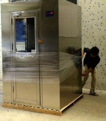 合肥不锈钢双人双吹风淋室生产厂家直销 同质价低