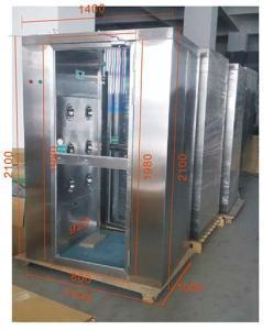 重慶單人雙吹風淋室廠家  不銹鋼風淋室供應