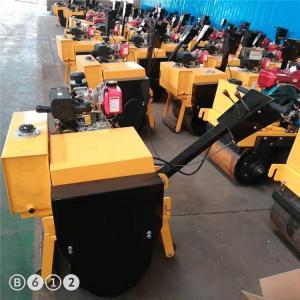 手扶式小型单钢轮压路机销售优质品质座驾压路机