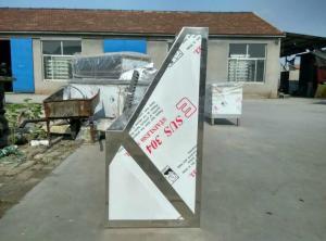 濟南食堂集氣罩有專人去現場測算