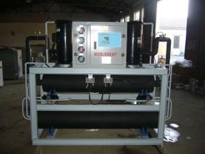 殼管式水冷開放式工業冷凍水恒溫機組