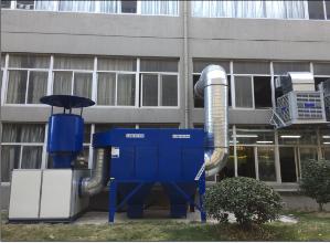 浙江聚英環保集中式分體濾筒除塵器