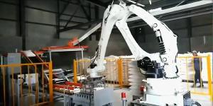碼垛機器人的出現給企業帶來了可觀效益