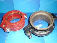 KRH型卡箍式柔性管接头