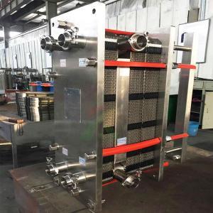 多段式全不锈钢板式换热器、多段式板式巴氏杀菌机,食品级板式换热器