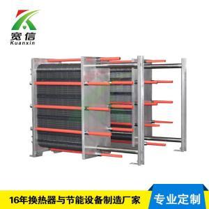 不锈钢板式换热器定制;食品级板式换热器配套-合肥宽信