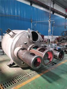 不銹鋼優質反應釜設備 內盤管反應釜