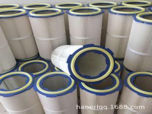 320X600噴涂行業除塵濾筒 除塵濾芯