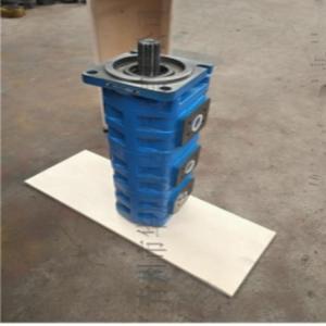 济宁吊车双联齿轮油泵青州液压泵