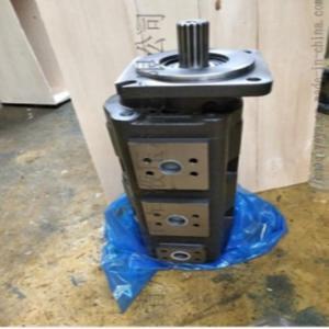 吊车配套CB-KP63/50/32铁壳三联齿轮油泵青州液压泵