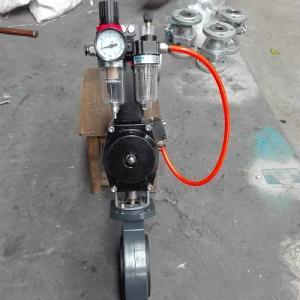 D671S厂家供应气动塑料蝶阀