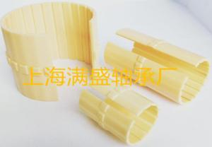 MSB-K01开口卡簧滑动膜工程塑料直线轴承
