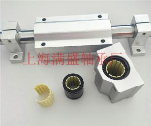 MSB-K111自润滑铝座滑块滑动膜工程塑料轴承