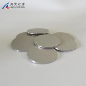 PEEK用钛粉末烧结圆片药用过滤