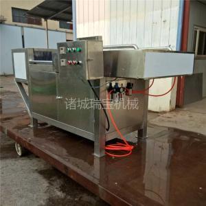 供用諸城瑞寶凍肉切片機 QP-600型凍雞肝切片機