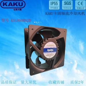 KAKU 轴流风机 外观180*180*62mm KA1806HA2B 双滚珠 7页散热风扇