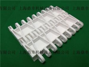 平板型塑料模塊輸送網帶opb直行pp白色