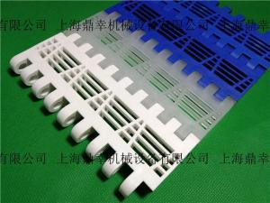 opb平格型塑料輸送網帶 節距50.8mm白色pp