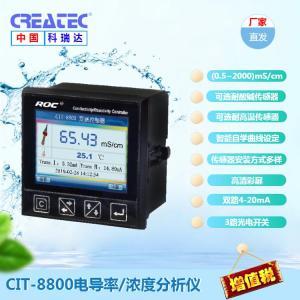 科瑞達儀器 電導率/濃度變送控制器