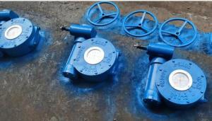上海禹轩QDX3-G5管网式蜗轮头,风门机械蝶阀配套执行机构