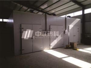 臘肉烘干機廣東中聯熱科空氣能熱泵干燥箱房廠家直供