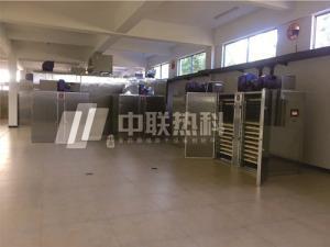 甘草烘干机设备甘肃中联热科空气能热泵环保节能型干燥箱房无污染