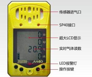 總代理英思科M40多氣體檢測儀