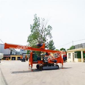 供應CFG螺旋灌注樁 15米入巖步履式長螺旋鉆機
