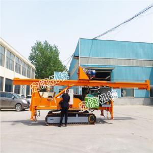 供應液壓長螺旋旋挖樁機 地基長螺旋鉆孔打樁機