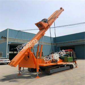 方塔折叠臂长螺旋钻机 植树挖坑机装载机式电线杆钻孔机价格