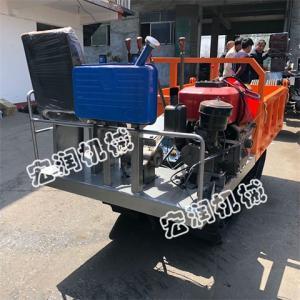 熱銷全地形履帶運輸車 橡膠履帶運輸車 鋼制履帶運輸車