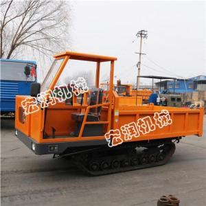 優質橡膠底盤運輸車 定做大噸位履帶運輸車 多用途履帶運輸車