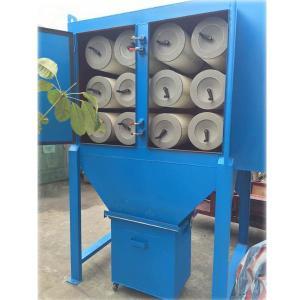 長袋低壓脈沖除塵器設計方案 濾筒點式除塵器