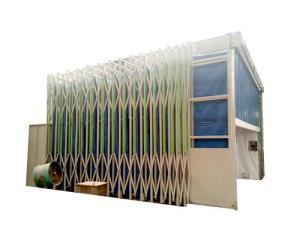 環保移動伸縮噴漆房成本低用途廣