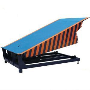 安徽固定式登车桥液压电动升降台物流厂房装卸台