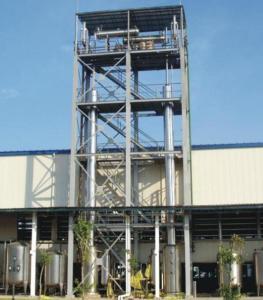 精餾塔酒精回收塔設備
