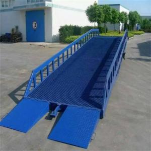 菏澤單縣移動式登車橋移動裝卸平臺叉車集裝箱上車臺