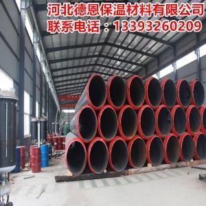 聚氨酯发泡预制直埋保温管现货供应