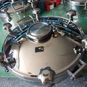 温州华强304/316L卫生级圆形人孔