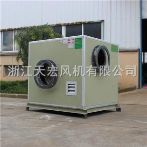 天宏FRP-4.5C分体式防腐离心风机箱 玻璃钢离心风机箱 箱式离心风机